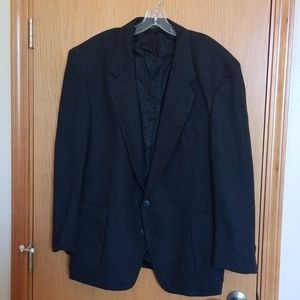 Other - Men's Wool Sports Coat 44R Charcoal Grey